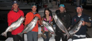 The Ogopogo Parasail team with their days haul!