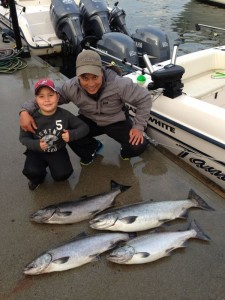 Sept 16th - Nice slabs for Father/Son trip!