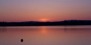 Stoney Lake sunset