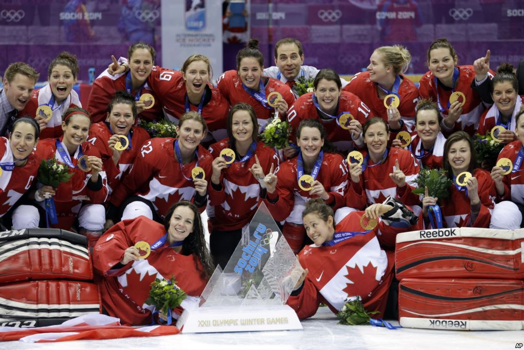 Canada Womens Gold_2014