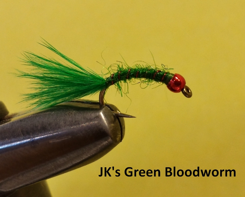 JK's Green Bloodworm
