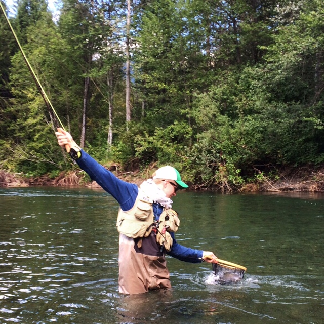 Pacific angler 39 s friday fishing report august 15th 2014 for Skagit river fishing