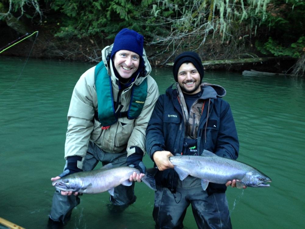 coho salmon squamish fly fishing