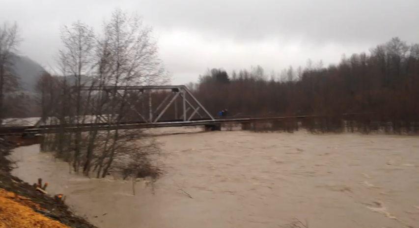 Mamquam river squamish