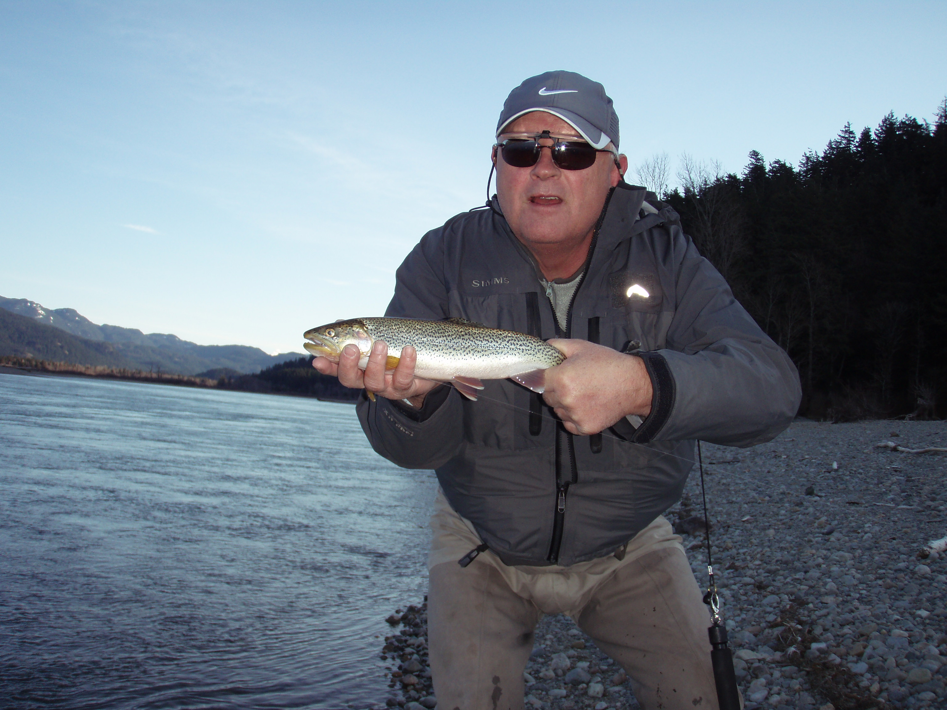 Frank with a nice cutthroat caught during the guided portion of our cutthroat course.