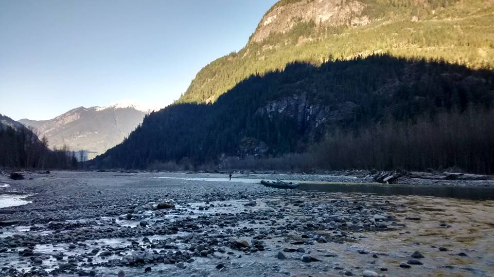 Beautiful day on the Squamish.