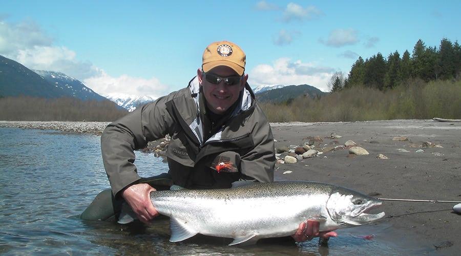 Vancouver fishing courses winter steelhead on the fly for Steelhead fishing tips