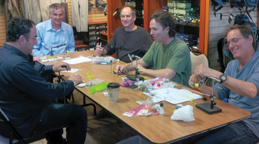 Introduction to Fly Tying Course Vancouver Fishing Class