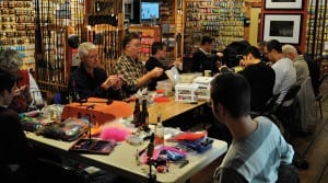 Introduction to Fly Tying Course Vancouver Fishing Instruction