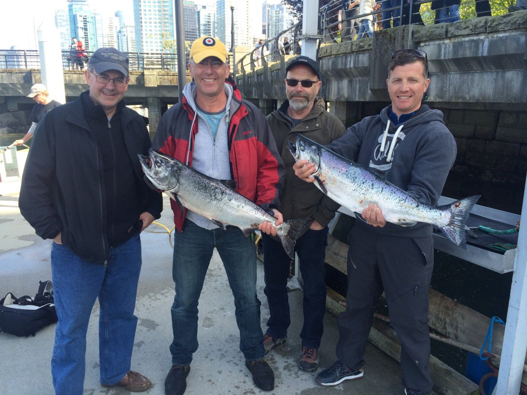 Some nice fish landed in our Mastering Local Saltwater Salmon Course.