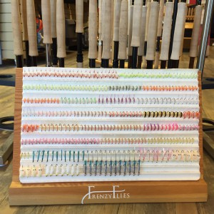 We are fully stocked with Andre's custom tied beach flies.