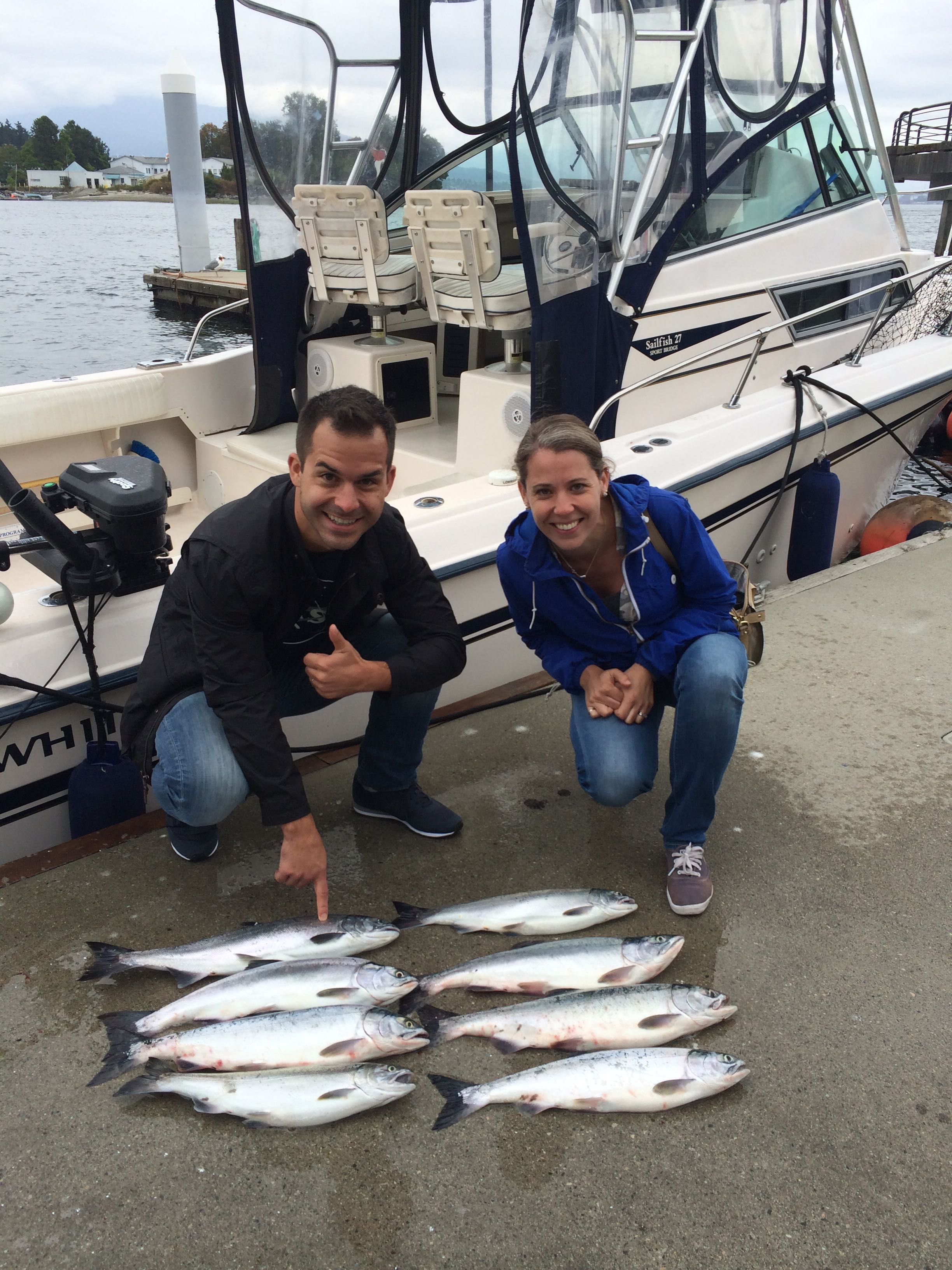 Vancouver saltwater report july 24 2015 vancouver for Guests and fish