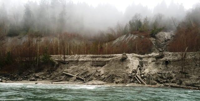 Mud slide on the Chilliwack