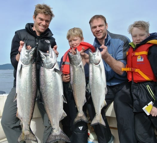 Winter Chinook limit