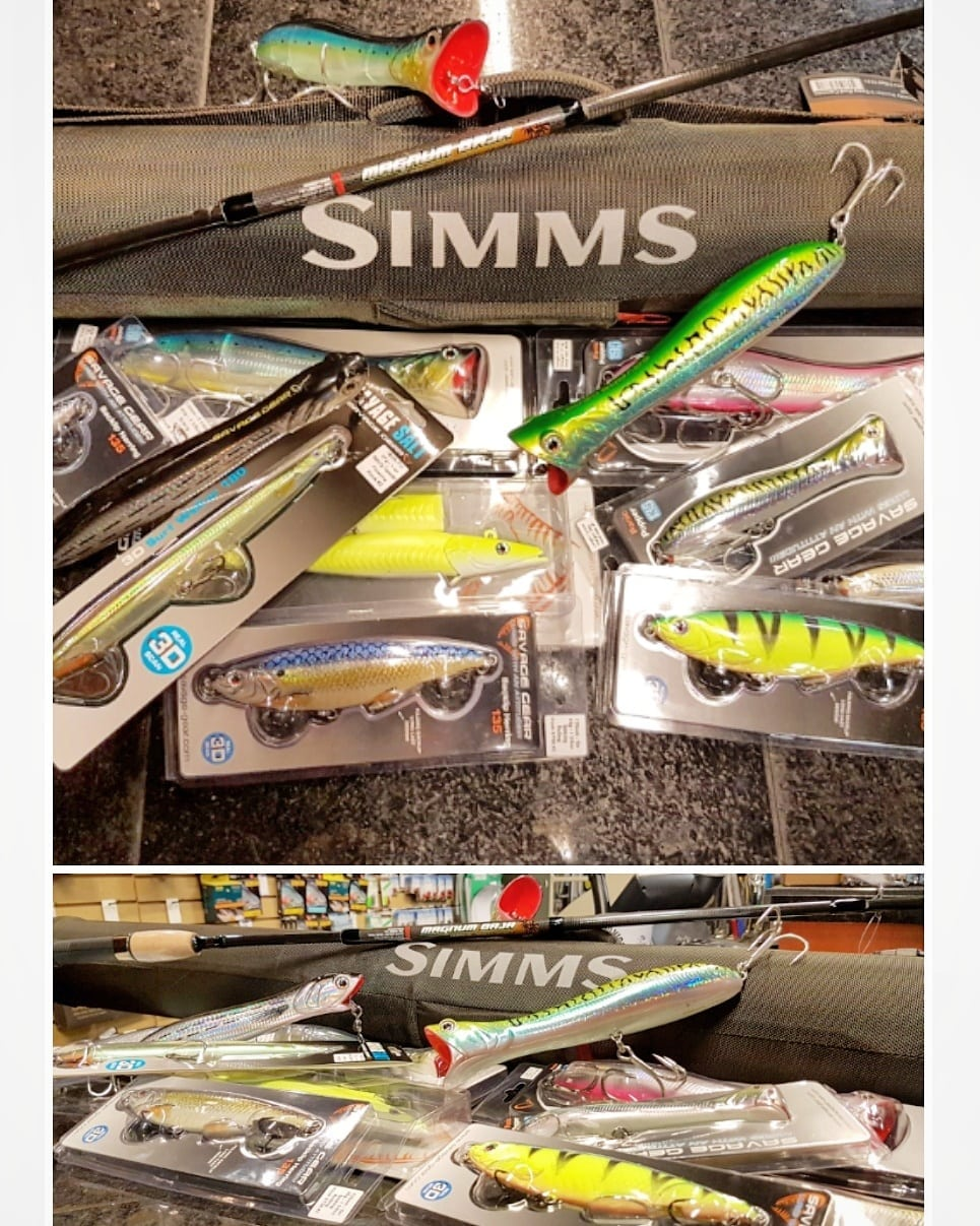 Savage Gear Warm Water Lures